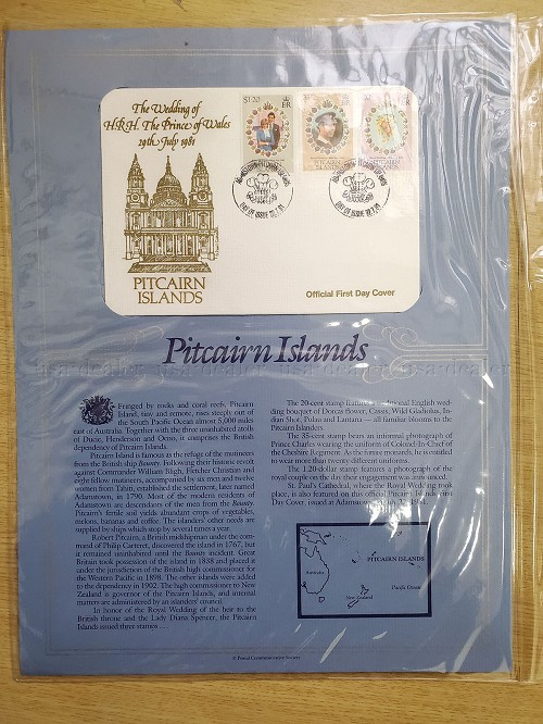 Official First Day Covers PRINCE CHARLES PRINCESS DIANA ROYAL WEDDING