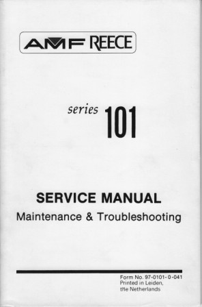REECE 101 MAINTENANCE & TROUBLESHOOTING Book in PDF format