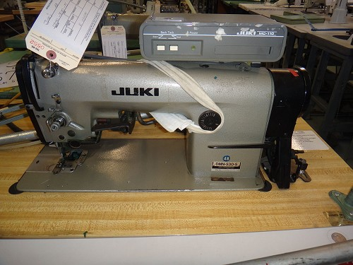 Juki DMN-530-5 sewing machine with edge trimmer