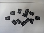 12 SD CARDS
