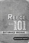 REECE 101  User's Manual / Instructions Book in PDF format