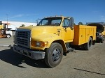 1996 FORD F800 S/A UTILITY TRUCK