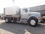 1992 INTERNATIONAL TRUCK 4600 WITH AIR COMPRESSOR