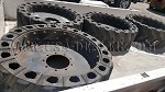 4 Skid Steer AirBoss Tires and Rims