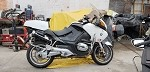 2009 BMW R1200RTP Motorcycle