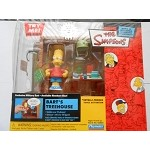 The Simpsons Bart's Treehouse Action Figure Interactive Playset