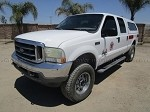 2004 Ford F350 4x4 Crew Cab Pick Up Truck