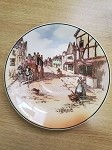 ROYAL DOULTON OLD ENGLISH COACHING SCENES SERIES WARE PLATE - D6393