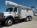 2006 International 7400 SFA 6x6 Bucket Truck