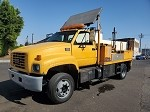 2002 GMC C6500 Utility Truck with Acker PT-22 Core Sampling Drill Rig