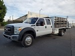 2014 Ford F-550 Super Duty 4x4 Crew Cab Stakebed Truck