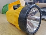 Lantern, Plastic, Maximum Lumens Output: 28, Yellow, 7.25 in