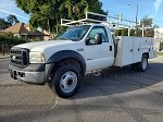 2007 Ford F550 Utility Bed