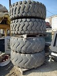 Used 20.5 X 25 Tires