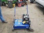 BlueBird Gas Powered Power Rake-Dethatcher with Honda GX160 Engine