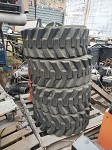4 Bobcat Tires Size 12 -16.5 Skid Steer tires